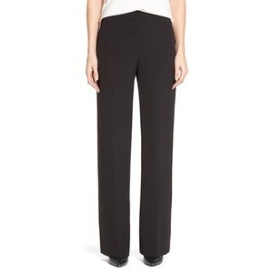 Halogen Black Wide Leg Trouser Pants